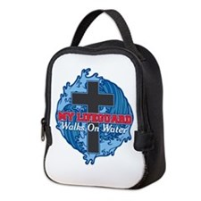 My Lifeguard Walks on Water Neoprene Lunch Bag