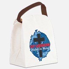 My Lifeguard Walks on Water Canvas Lunch Bag