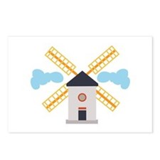 Windmill Postcards (Package of 8)
