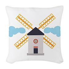 Windmill Woven Throw Pillow
