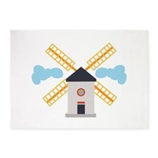 Windmill 5'x7'Area Rug