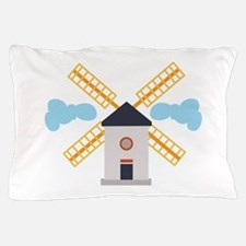 Windmill Pillow Case
