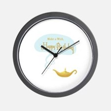 Make a Wish Wall Clock