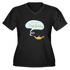 Make a Wish Plus Size T-Shirt