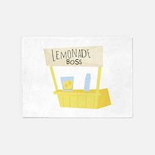 Lemonade Boss 5'x7'Area Rug