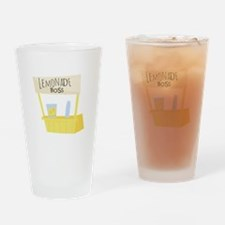 Lemonade Boss Drinking Glass