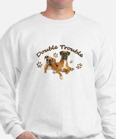 Boxer Double Trouble Sweatshirt