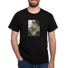 Lilac and Blue Tortoiseshell Burmese Cats T-Shirt
