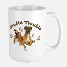 Boxer Double Trouble Mugs