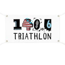 140.6 Triathlon Banner