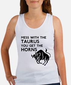 Taurus Horns Women's Tank Top