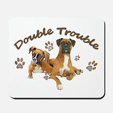 Boxer Double Trouble Mousepad