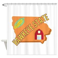 Hawkeye State Shower Curtain