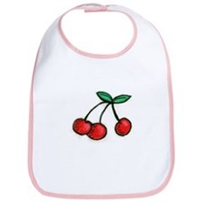 Cute Little Cherries Bib