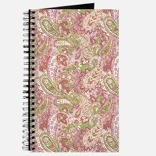 Baby Pink Watercolor Paisley 2 Journal