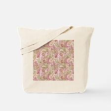 Baby Pink Watercolor Paisley 2 Tote Bag