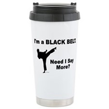 Unique Martial arts black belt Travel Mug