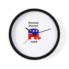 Duncan Hunter Wall Clock