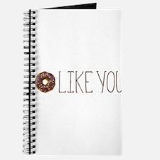 I Donut Like You Journal