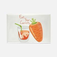 Eat Carrots Magnets