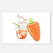 Eat Carrots Postcards (Package of 8)