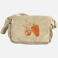 Eat Carrots Messenger Bag