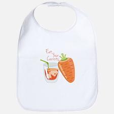 Eat Carrots Bib