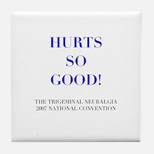 Trigeminal neuralgia Tile Coaster