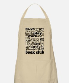 Book Club (Eat Sleep) Apron