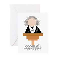 Justice Greeting Cards
