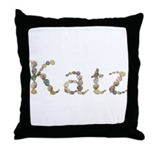 Katz Seashells Throw Pillow