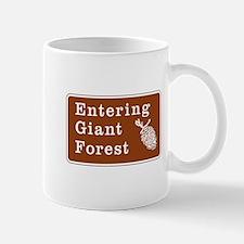 Entering Giant Forest, California Mug