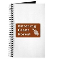 Entering Giant Forest, California Journal