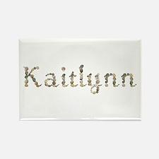 Kaitlynn Seashells Rectangle Magnet