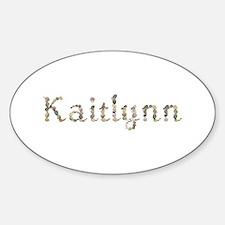 Kaitlynn Seashells Oval Decal