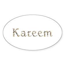 Kareem Seashells Oval Decal