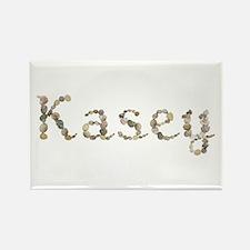 Kasey Seashells Rectangle Magnet