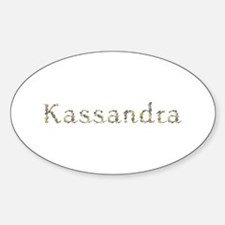 Kassandra Seashells Oval Decal
