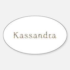 Kassandra Seashells Oval Decal
