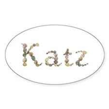Katz Seashells Oval Decal
