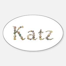 Katz Seashells Oval Decal