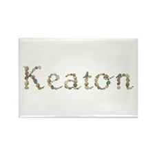 Keaton Seashells Rectangle Magnet