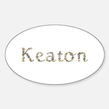 Keaton Seashells Oval Decal