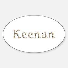 Keenan Seashells Oval Decal