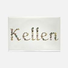 Kellen Seashells Rectangle Magnet
