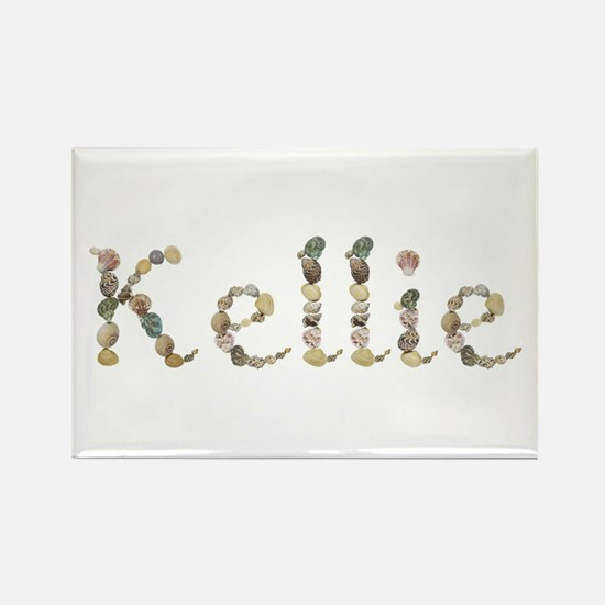 Kellie Seashells Rectangle Magnet