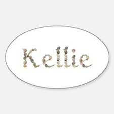 Kellie Seashells Oval Decal
