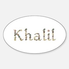 Khalil Seashells Oval Decal