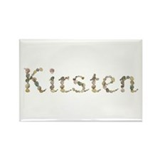 Kirsten Seashells Rectangle Magnet