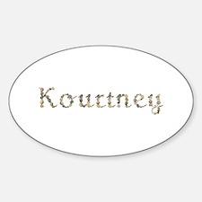 Kourtney Seashells Oval Decal
